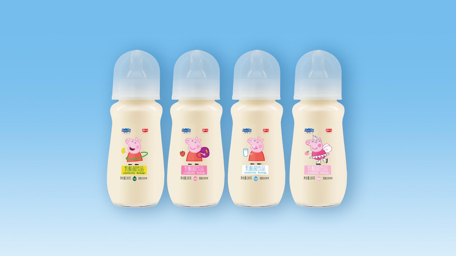 乳酸菌玻璃瓶奶嘴装