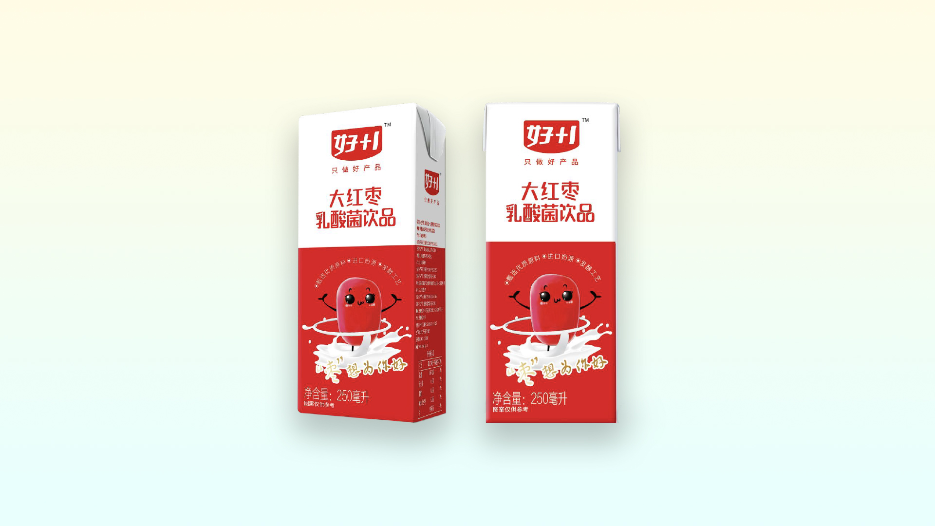 好+1大红枣乳酸菌饮品