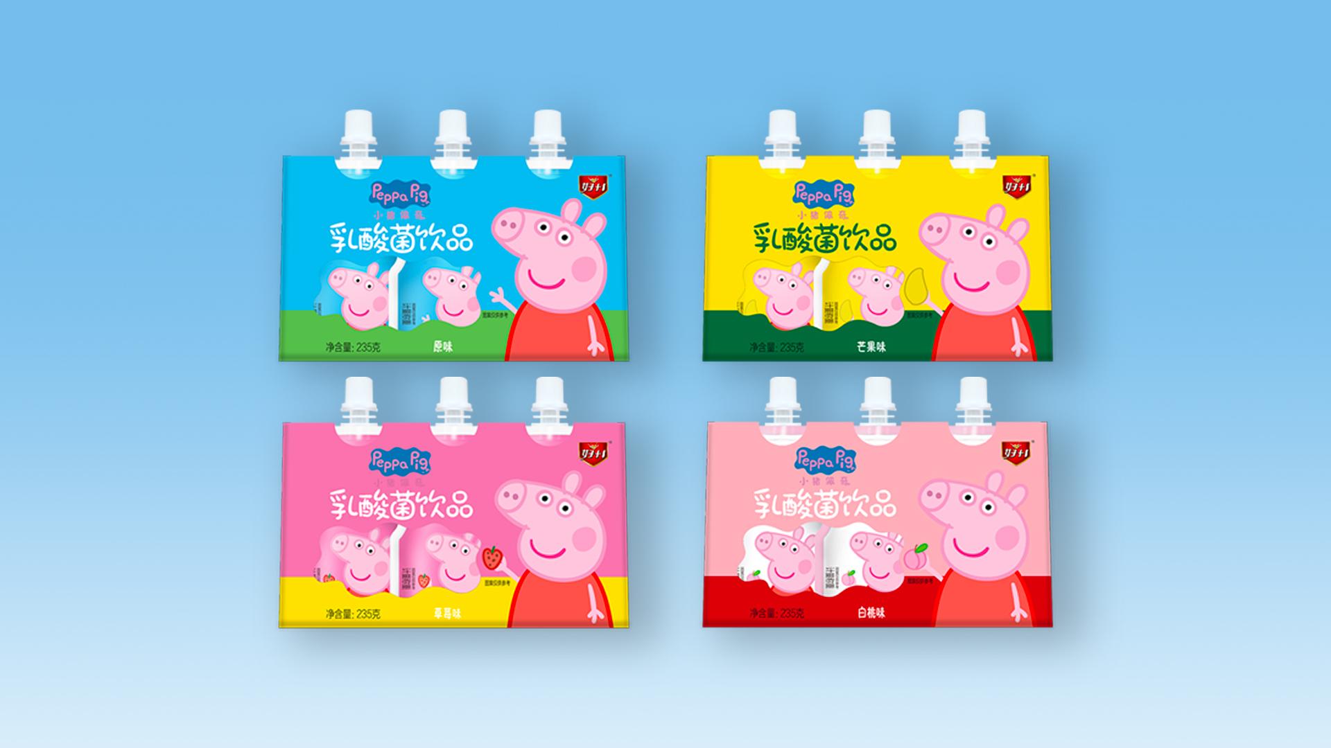 乳酸菌饮品自立袋