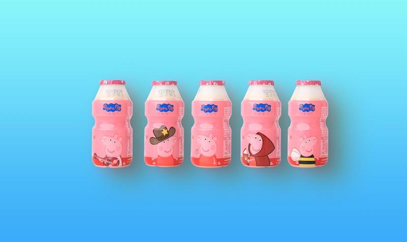 乳酸菌饮品白桃桃花味