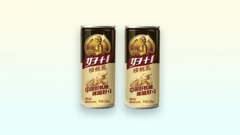 金牌核桃乳(高罐)