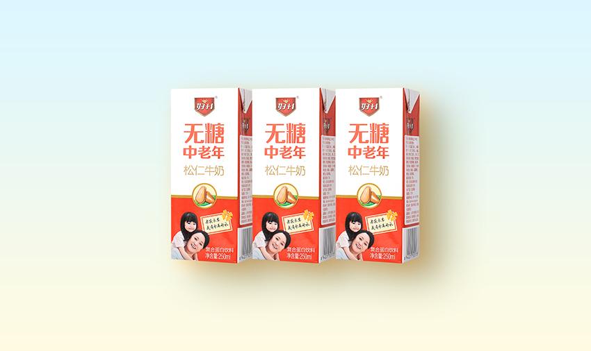 无糖中老年松仁牛奶250ml