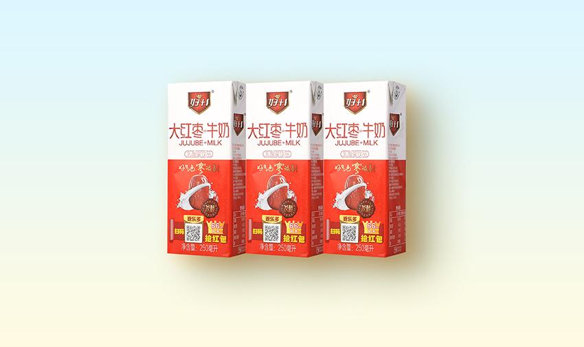 红枣牛奶250ml