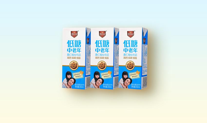 低糖中老年松仁牛奶250ml