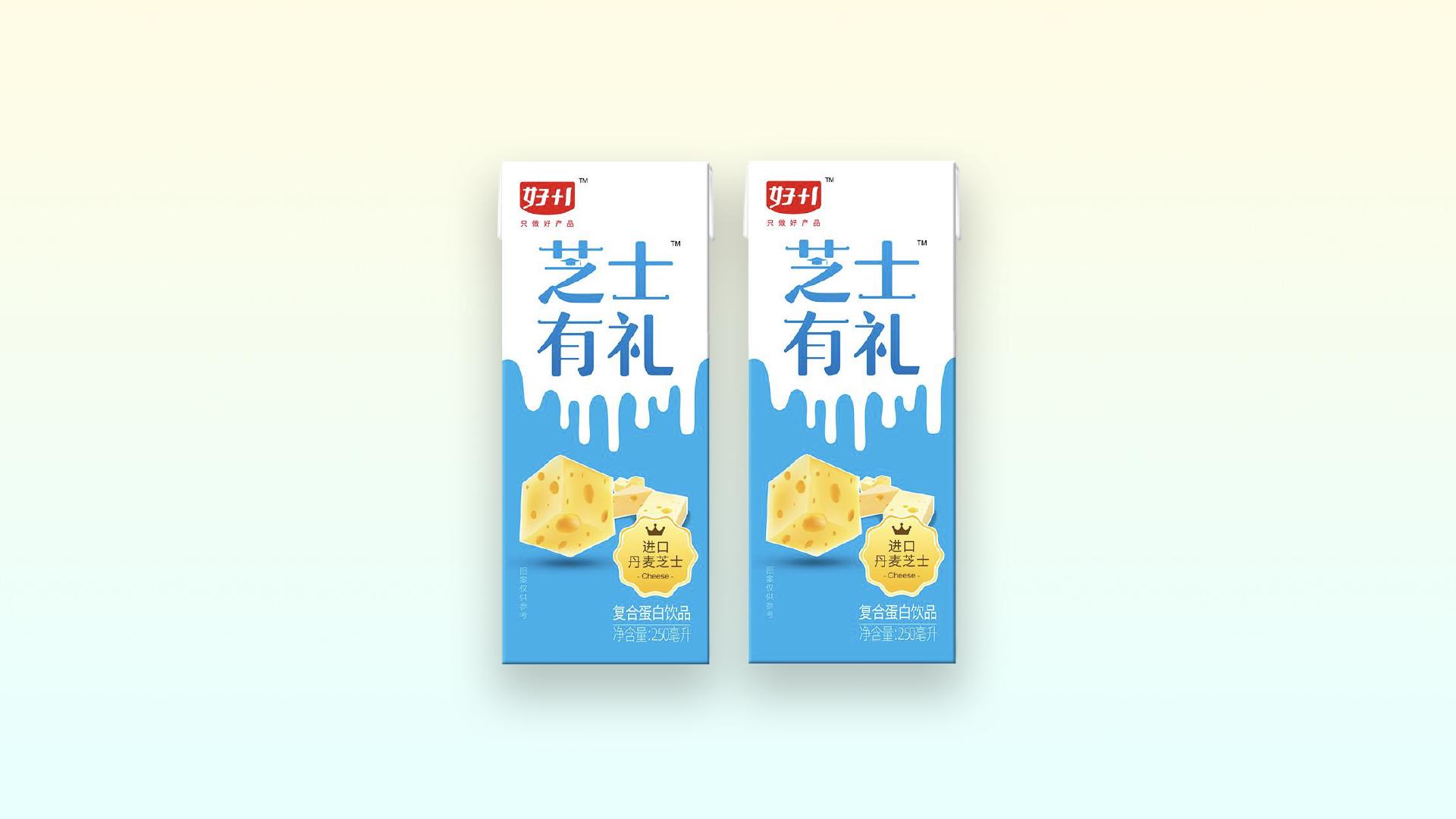 乐虎国际游戏一芝士有礼复合蛋白饮品