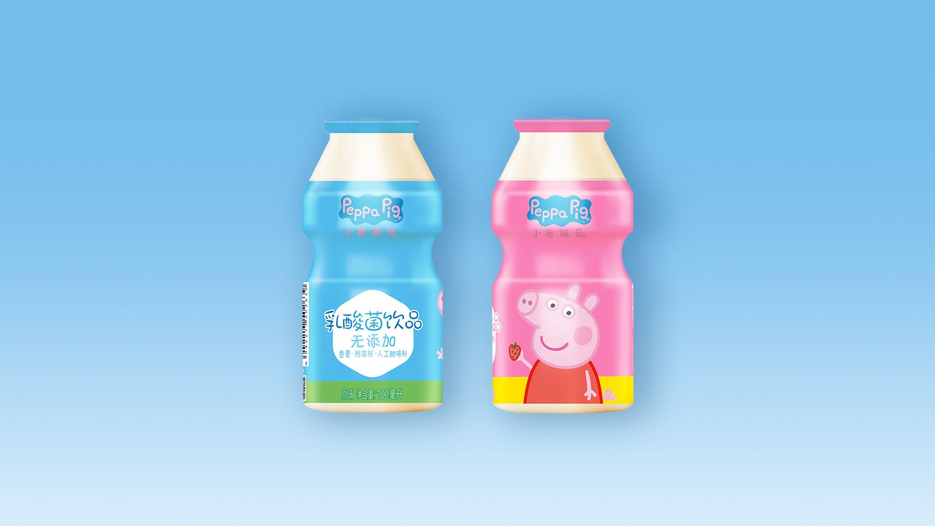 小猪佩奇乳酸菌饮品